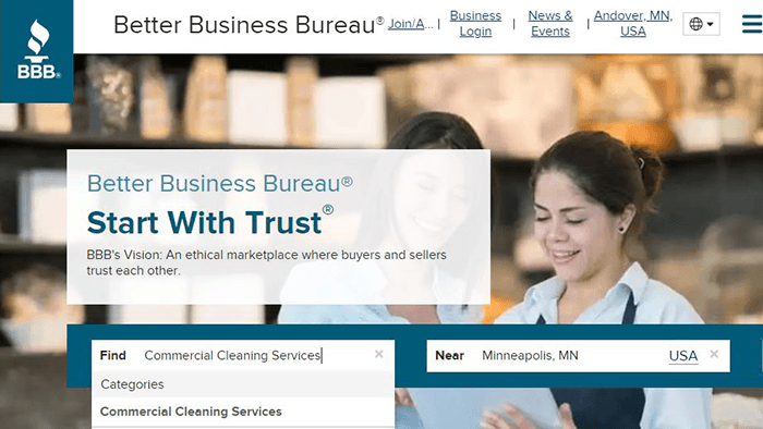 Better Business Bureau Search