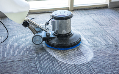 How often should you clean commercial carpet?