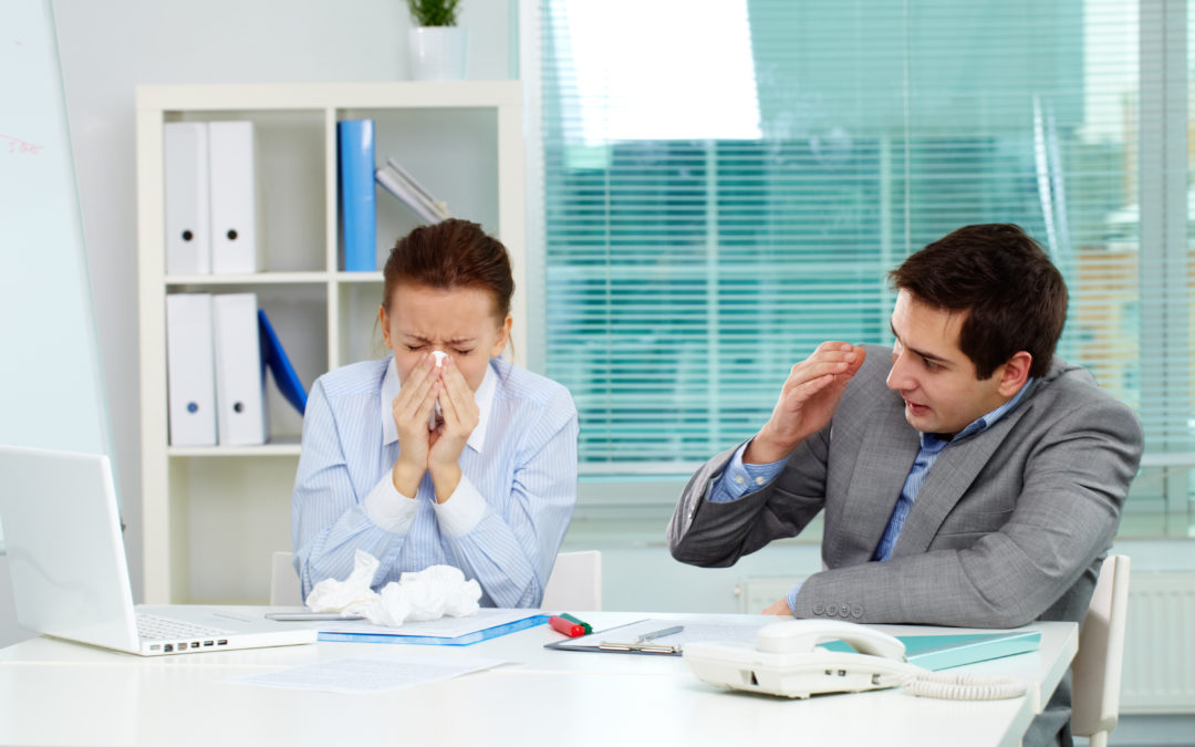 3 Touchless Technologies to Prevent the Spread of Sickness in the Workplace